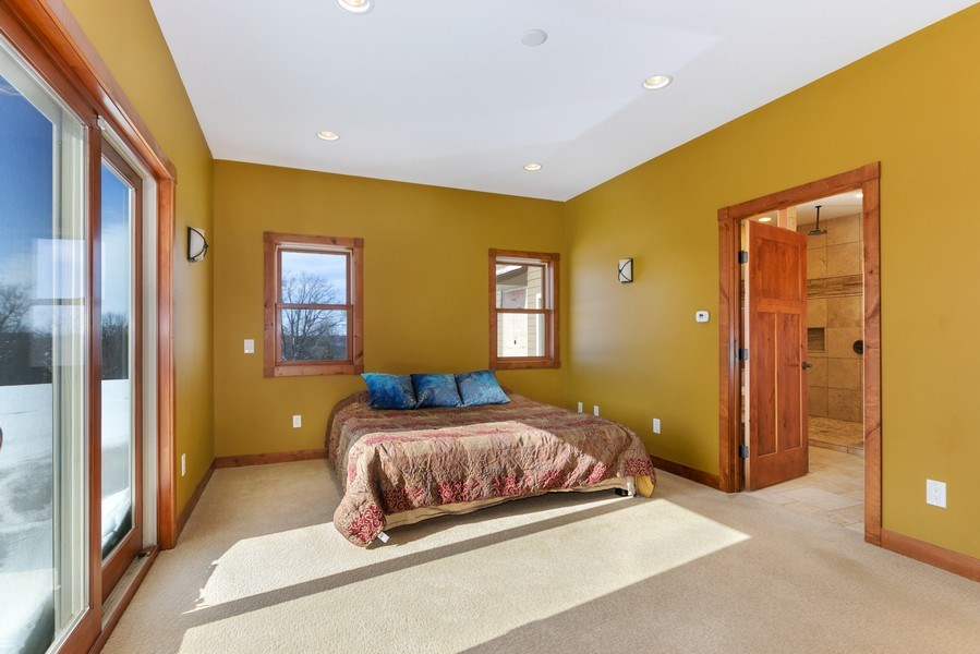 Real Estate Photography - 3472 W 450th Ave, Maiden Rock, WI, 54750 - Master Bedroom