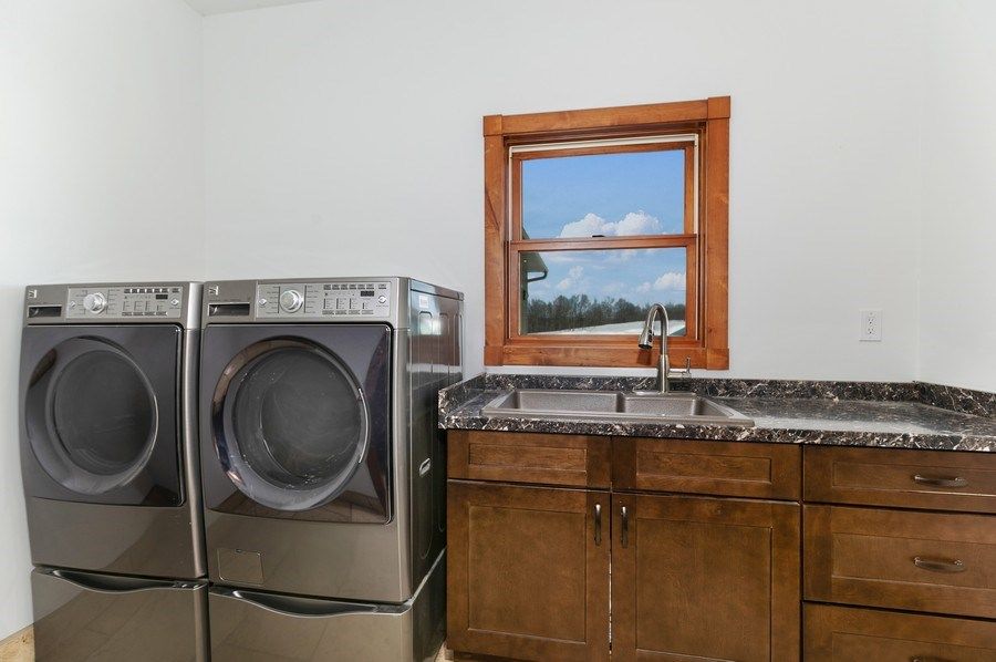 Real Estate Photography - 3472 W 450th Ave, Maiden Rock, WI, 54750 - Laundry Room