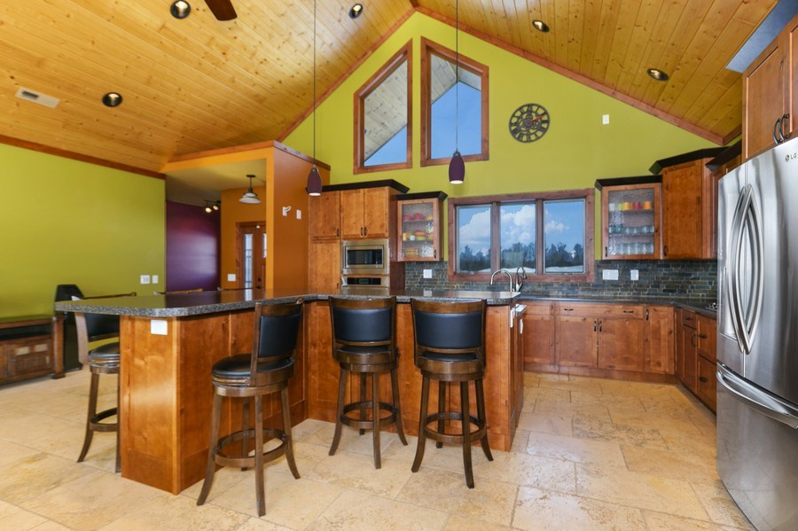 Real Estate Photography - 3472 W 450th Ave, Maiden Rock, WI, 54750 - Kitchen