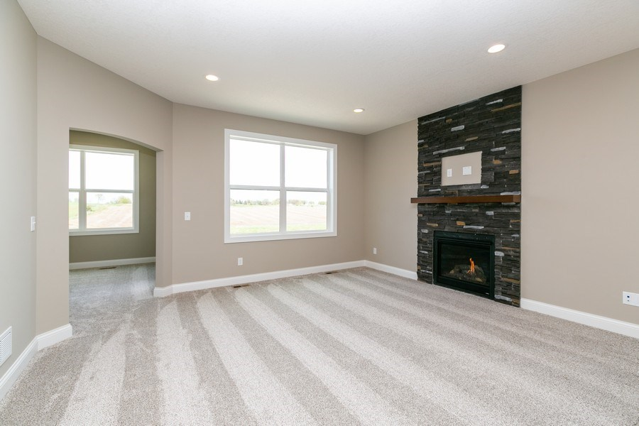 Real Estate Photography - 10250 74th Ave NE, Otsego, MN, 55301 - Living Room
