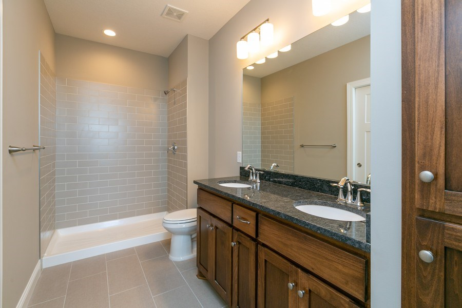 Real Estate Photography - 10250 74th Ave NE, Otsego, MN, 55301 - Master Bathroom