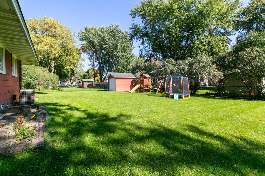 Real Estate Photography - 9982 Monticello Lane N, Maple Grove, MN, 55369 - Back Yard