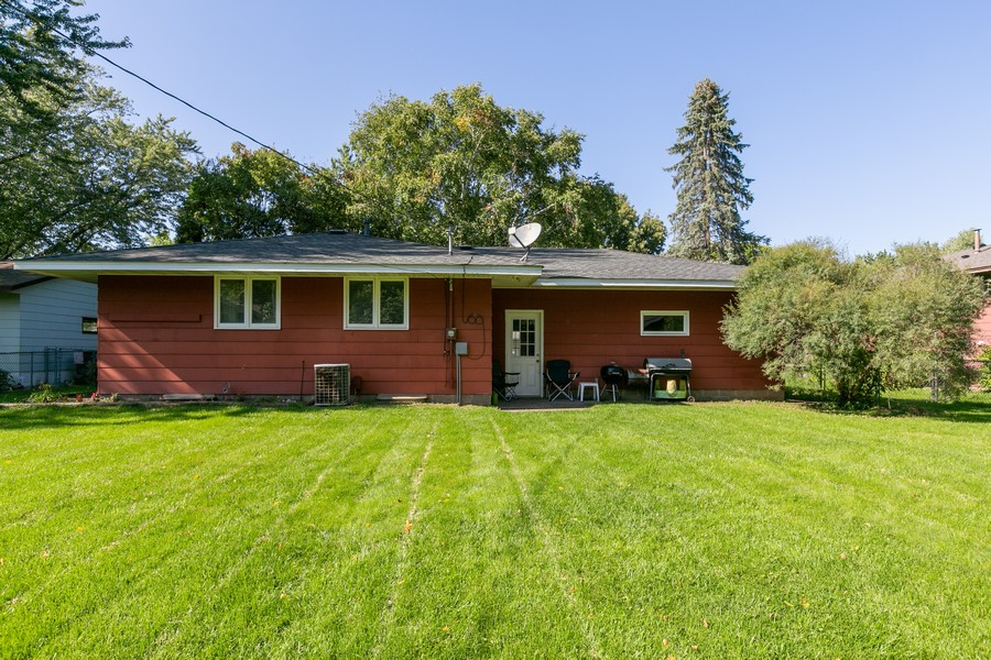 Real Estate Photography - 9982 Monticello Lane N, Maple Grove, MN, 55369 - Rear View