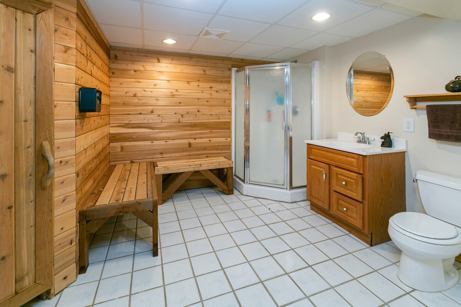 Real Estate Photography - 9982 Monticello Lane N, Maple Grove, MN, 55369 - 2nd Bathroom