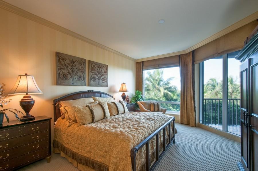 Real Estate Photography - 23750 Via Trevi Way, Unit #203, Bonita Springs, FL, 34134 - Master Bedroom