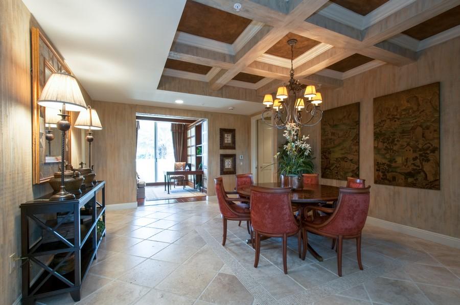 Real Estate Photography - 23750 Via Trevi Way, Unit #203, Bonita Springs, FL, 34134 - Dining Room