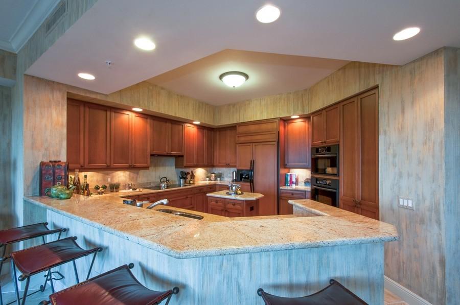 Real Estate Photography - 23750 Via Trevi Way, Unit #203, Bonita Springs, FL, 34134 - Kitchen