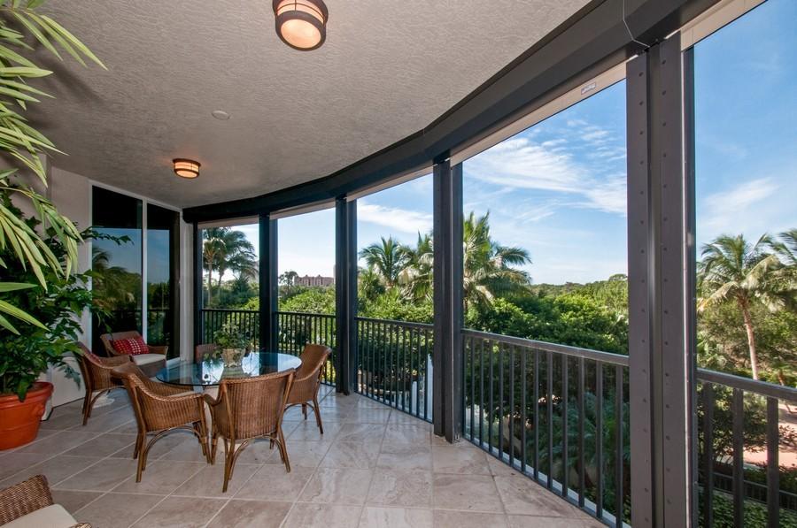 Real Estate Photography - 23750 Via Trevi Way, Unit #203, Bonita Springs, FL, 34134 - Lanai