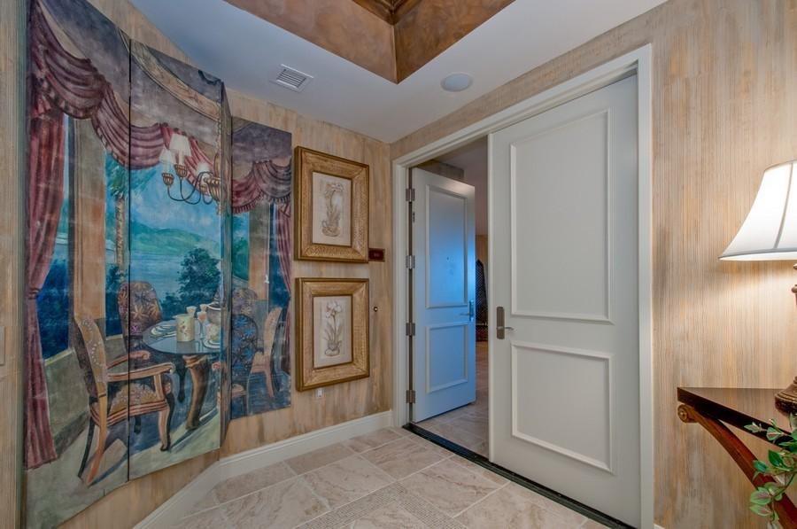 Real Estate Photography - 23750 Via Trevi Way, Unit #203, Bonita Springs, FL, 34134 - Entryway