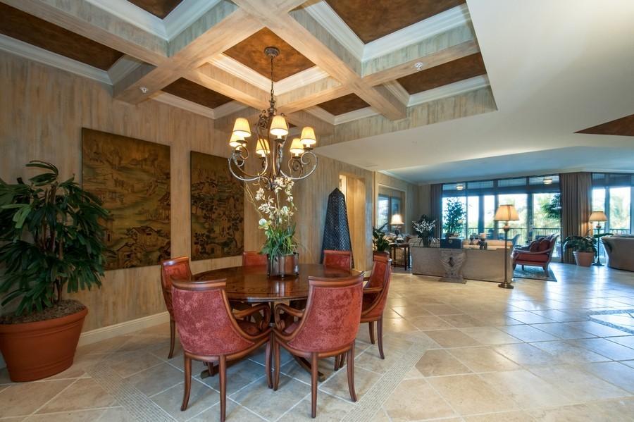 Real Estate Photography - 23750 Via Trevi Way, Unit #203, Bonita Springs, FL, 34134 - Living Room / Dining Room