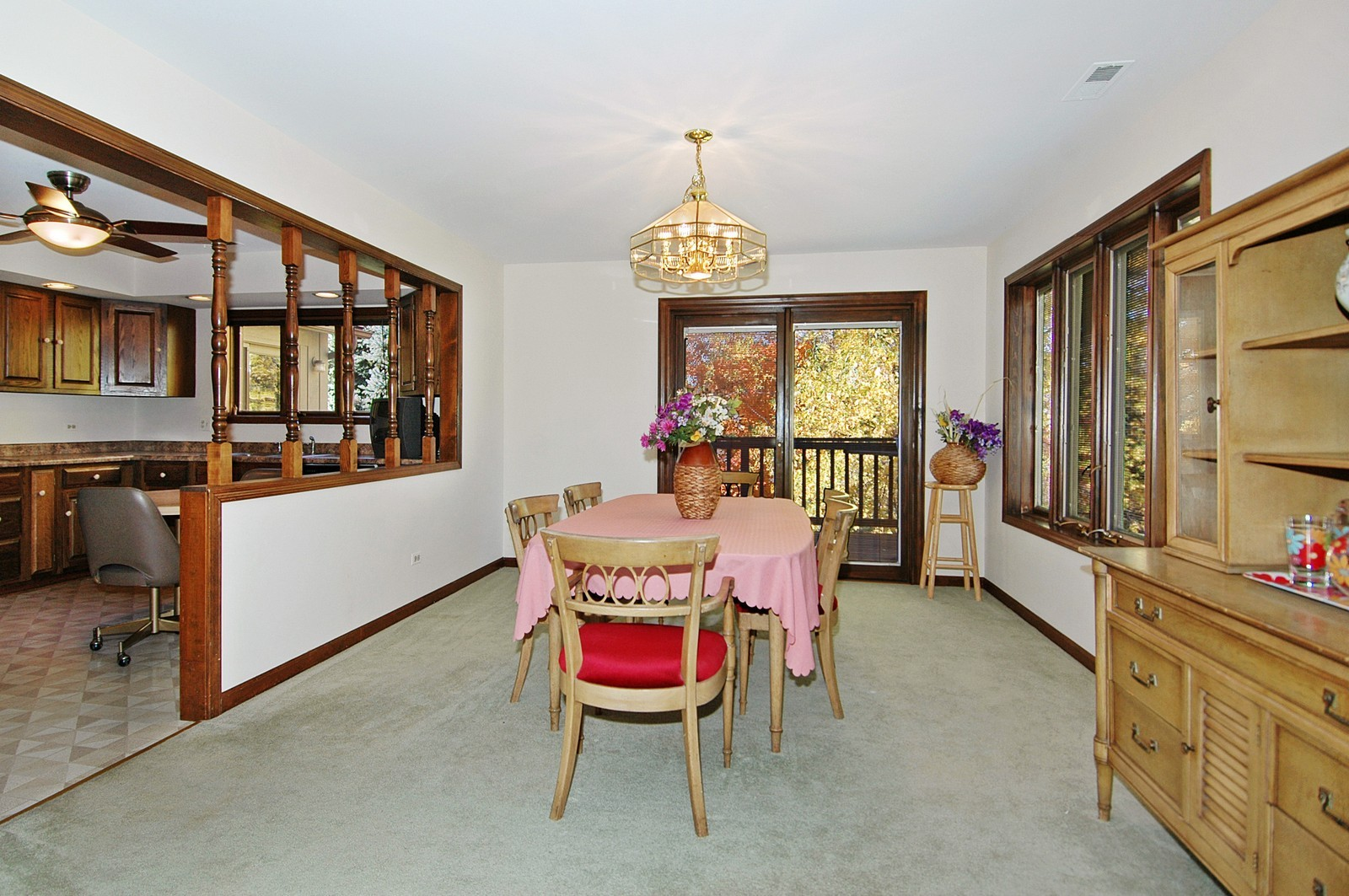 Real Estate Photography - 5805 Wild Plum Rd, Crystal Lake, IL, 60014 - Dining Room