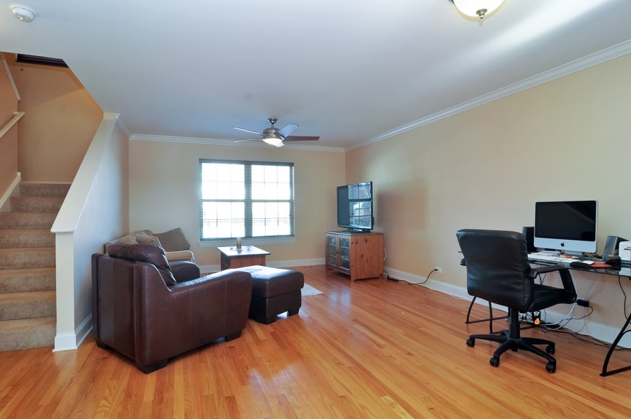 Real Estate Photography - 286 Robertson, Palatine, IL, 60067 - Living Room