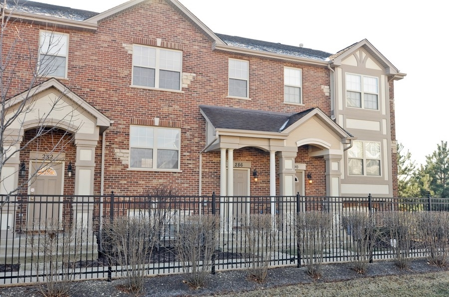 Real Estate Photography - 286 Robertson, Palatine, IL, 60067 - Front View