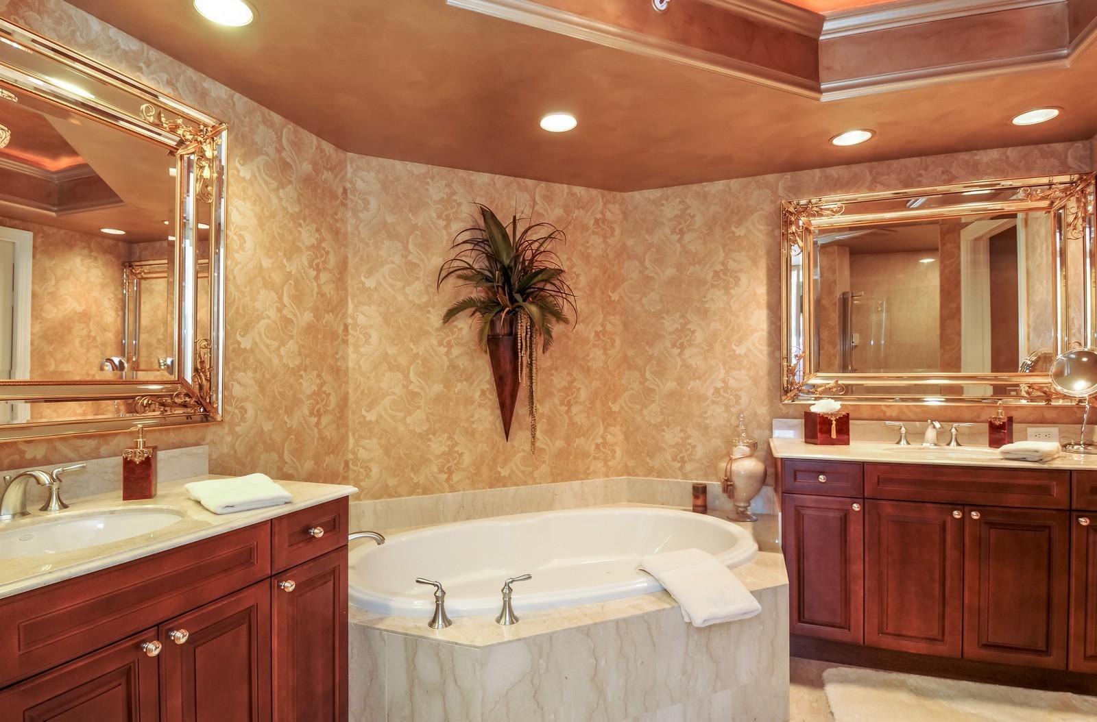 Real Estate Photography - 23540 Via Veneto, Unit 1705, Bonita Springs, FL, 34134 - Master Bathroom