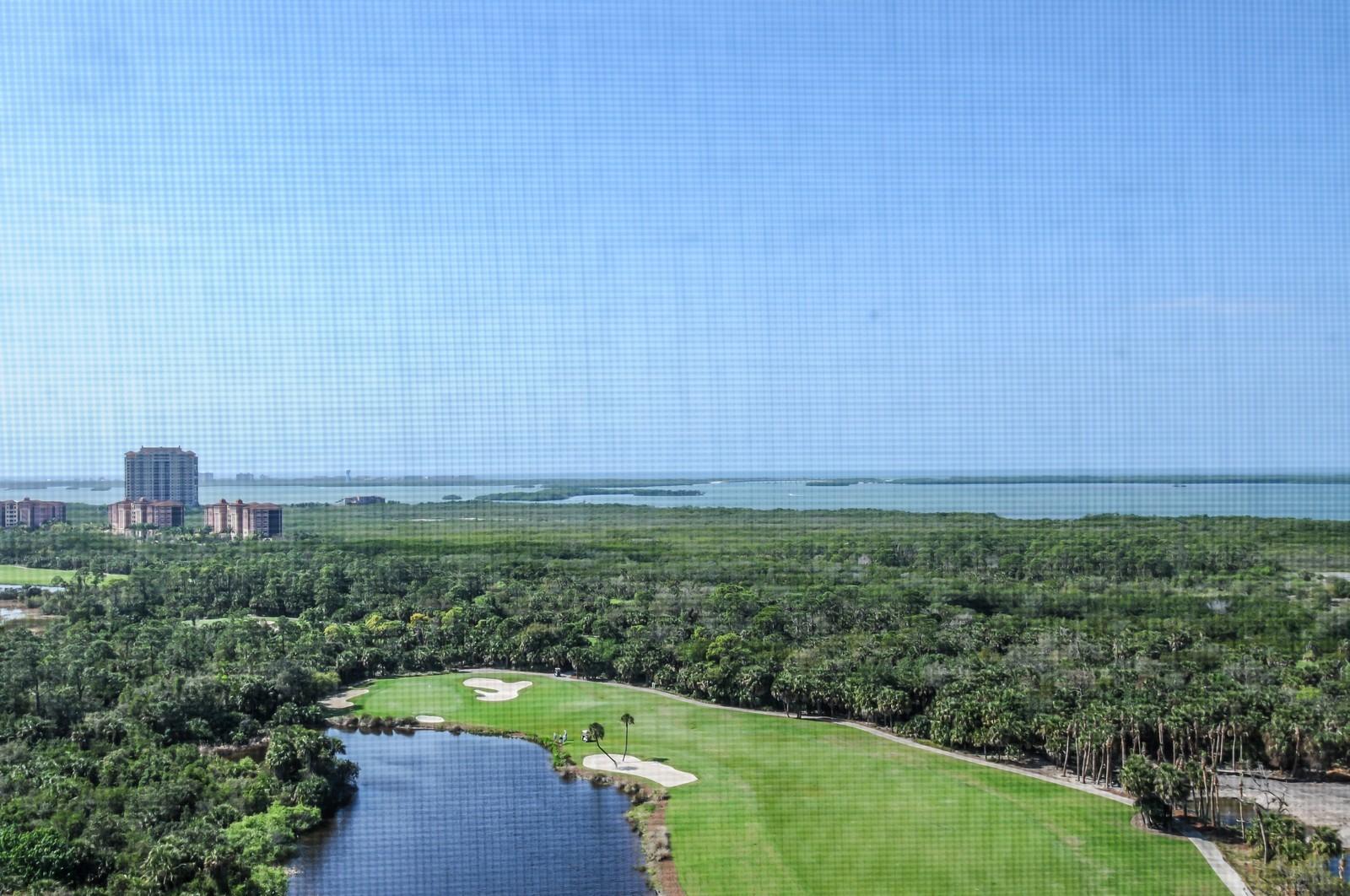 Real Estate Photography - 23540 Via Veneto, Unit 1705, Bonita Springs, FL, 34134 - Bay View