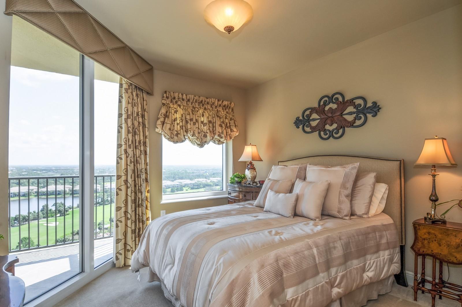 Real Estate Photography - 23540 Via Veneto, Unit 1705, Bonita Springs, FL, 34134 - 2nd Bedroom