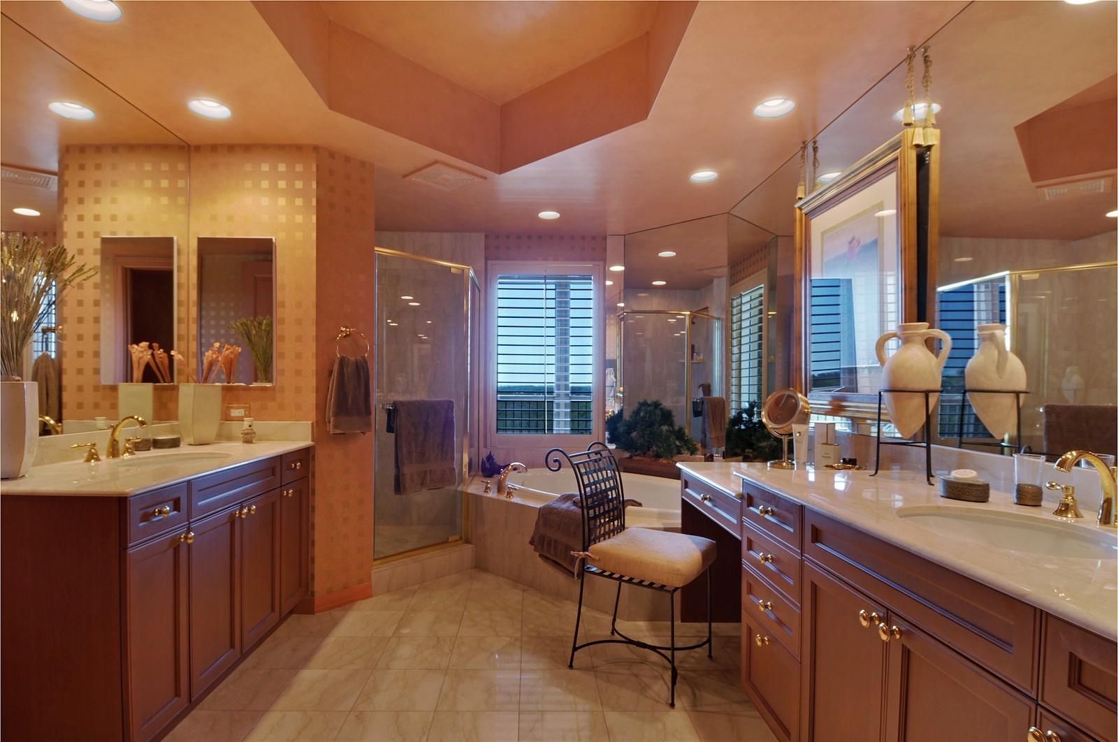 Real Estate Photography - 4875 Pelican Colony Blvd, Unit 304, Bonita Springs, FL, 34134 - Master Bathroom