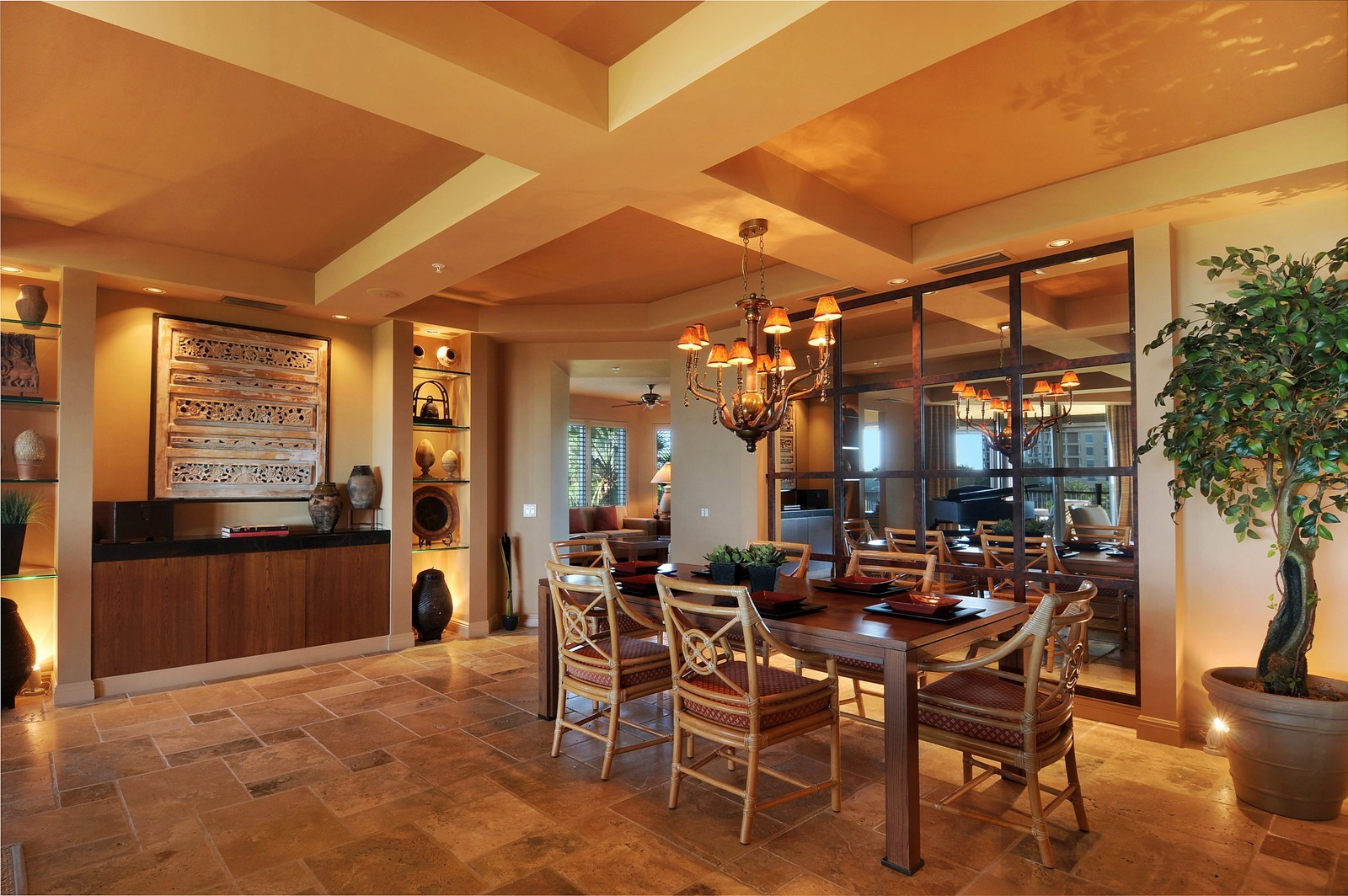 Real Estate Photography - 4875 Pelican Colony Blvd, Unit 304, Bonita Springs, FL, 34134 - Dining Room