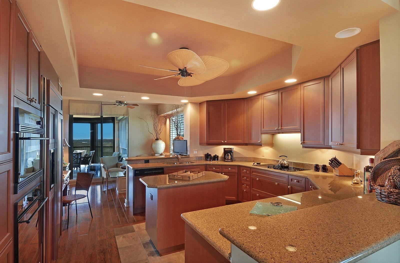 Real Estate Photography - 4875 Pelican Colony Blvd, Unit 304, Bonita Springs, FL, 34134 - Kitchen