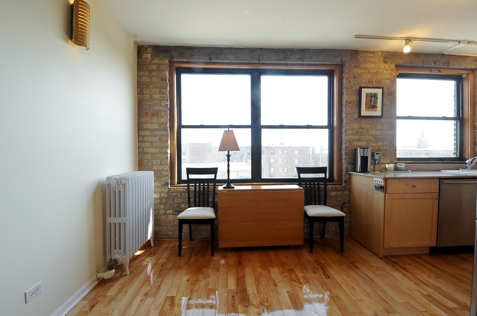 Real Estate Photography - 4630 North Beacon, #4B, Chicago, IL, 60640 - Dining Room