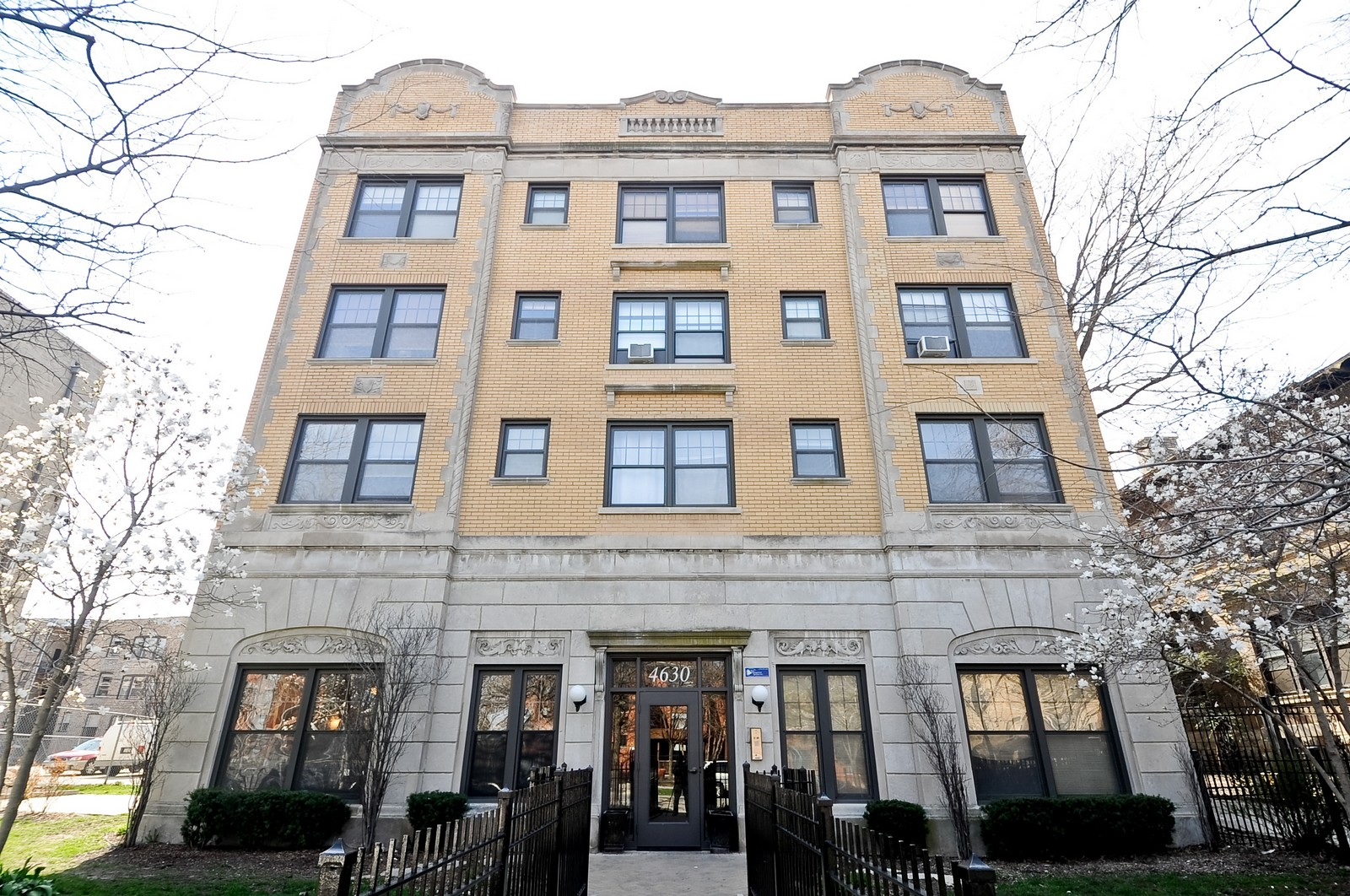 Real Estate Photography - 4630 North Beacon, #4B, Chicago, IL, 60640 - Front View