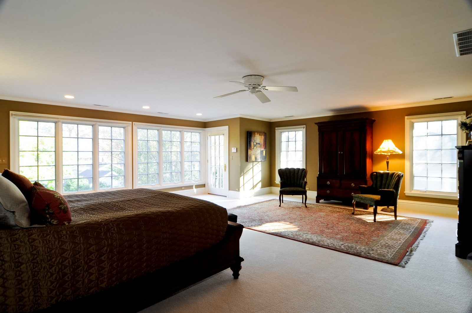 Real Estate Photography - 685 N. Forest Avenue, Glen Ellyn, IL, 60137 - Master Bedroom