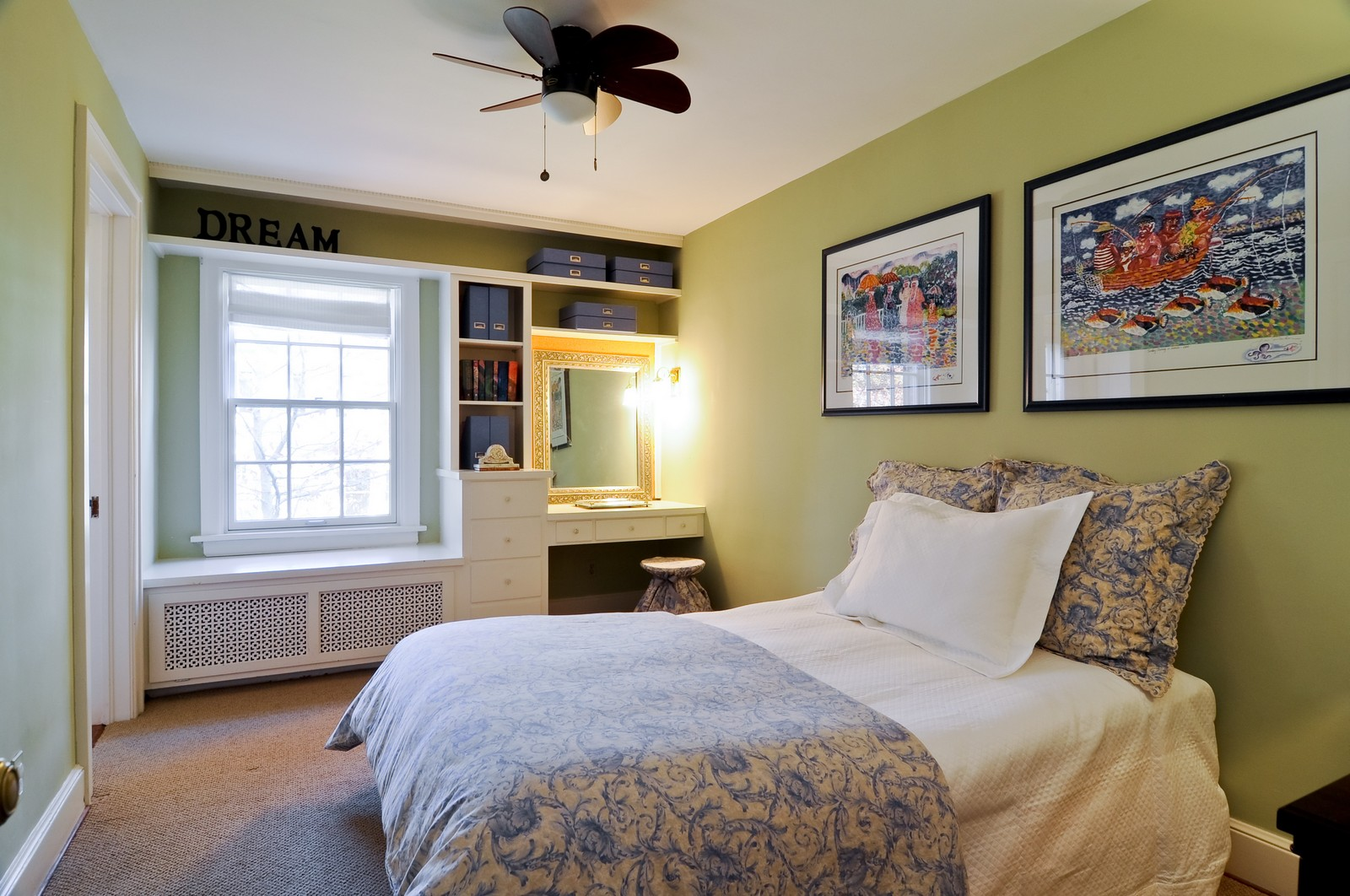 Real Estate Photography - 685 N. Forest Avenue, Glen Ellyn, IL, 60137 - 3rd Bedroom