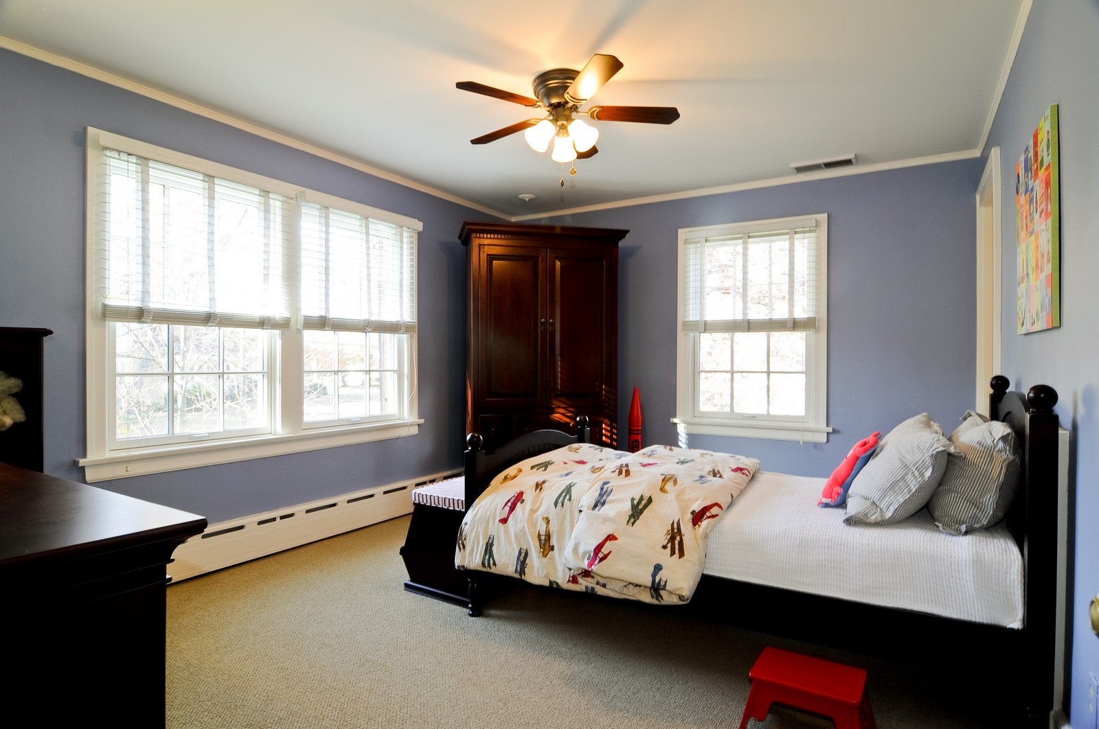 Real Estate Photography - 685 N. Forest Avenue, Glen Ellyn, IL, 60137 - 4th Bedroom