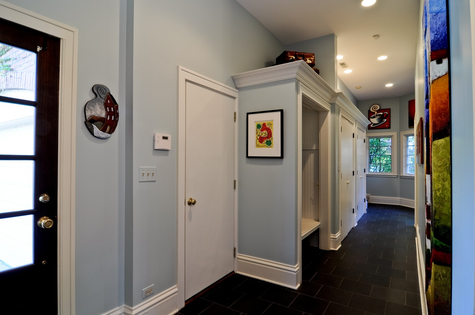 Real Estate Photography - 685 N. Forest Avenue, Glen Ellyn, IL, 60137 - Entryway
