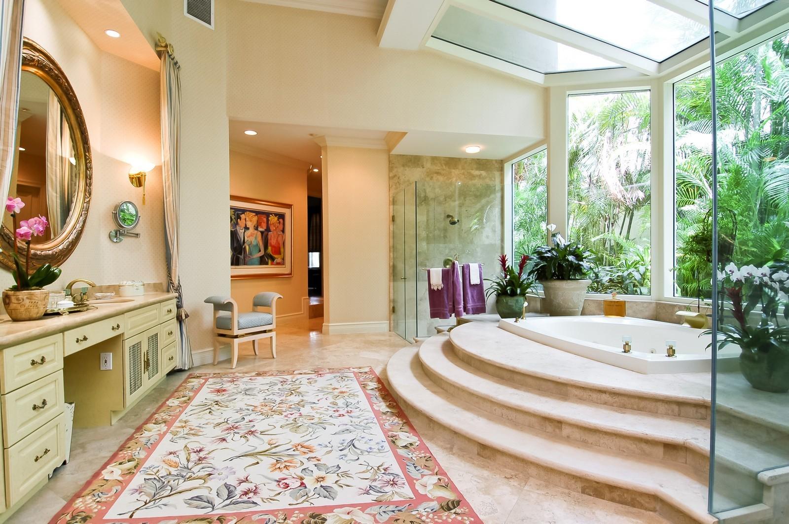 Real Estate Photography - 19674 OakbrookCourt, Boca Raton, FL, 33434 - Master Bathroom