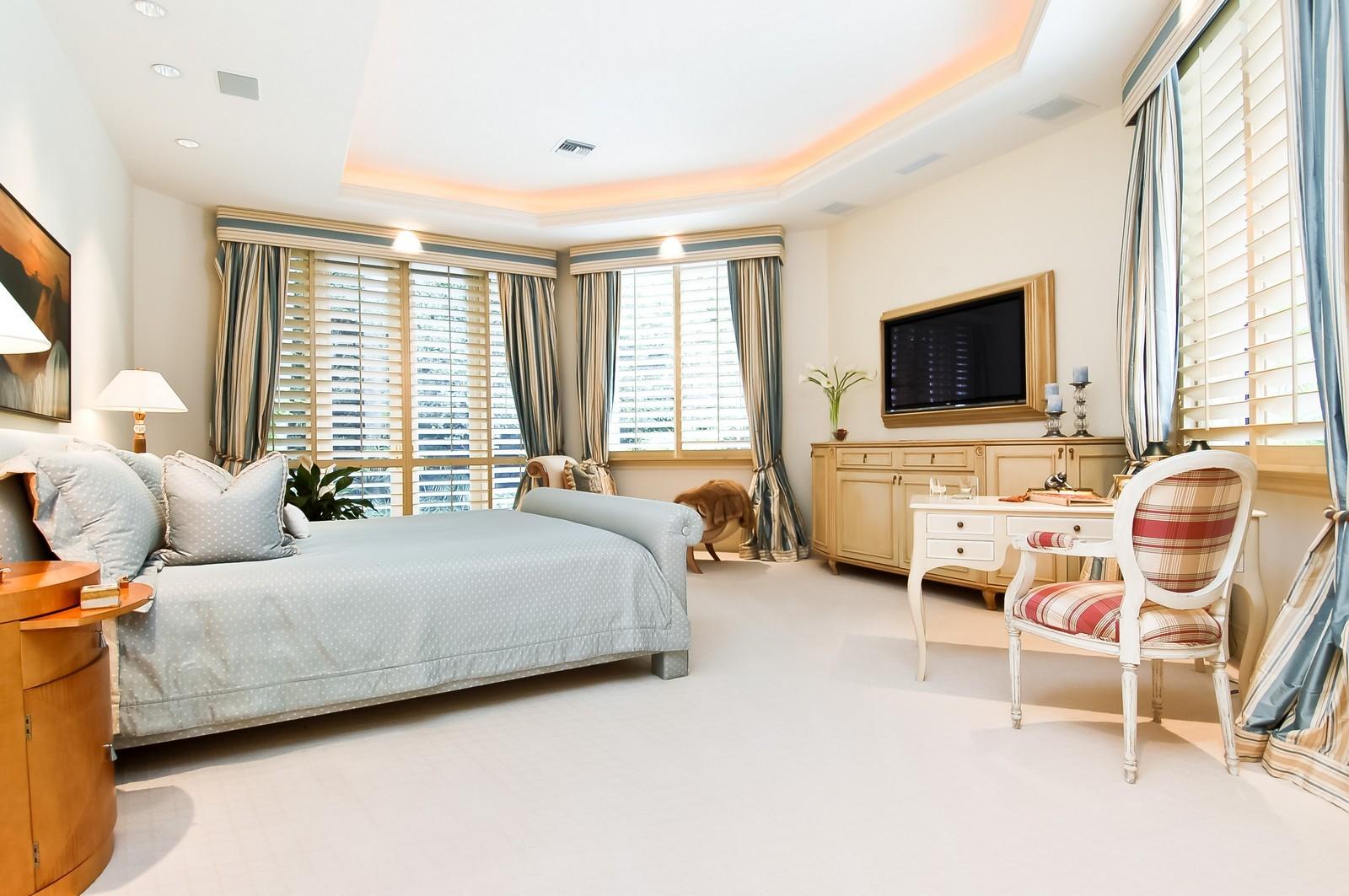 Real Estate Photography - 19674 OakbrookCourt, Boca Raton, FL, 33434 - Master Bedroom