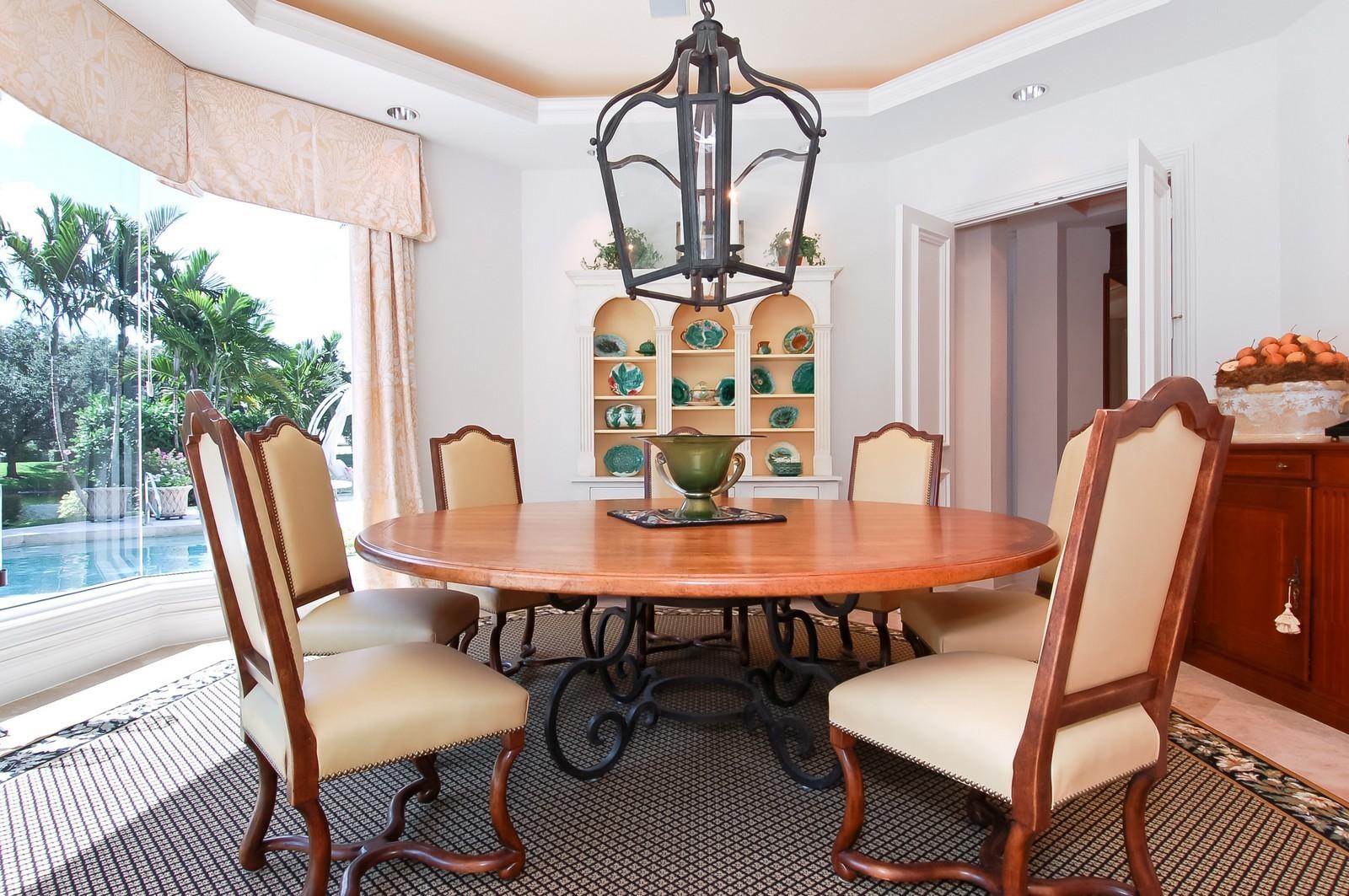 Real Estate Photography - 19674 OakbrookCourt, Boca Raton, FL, 33434 - Dining Room