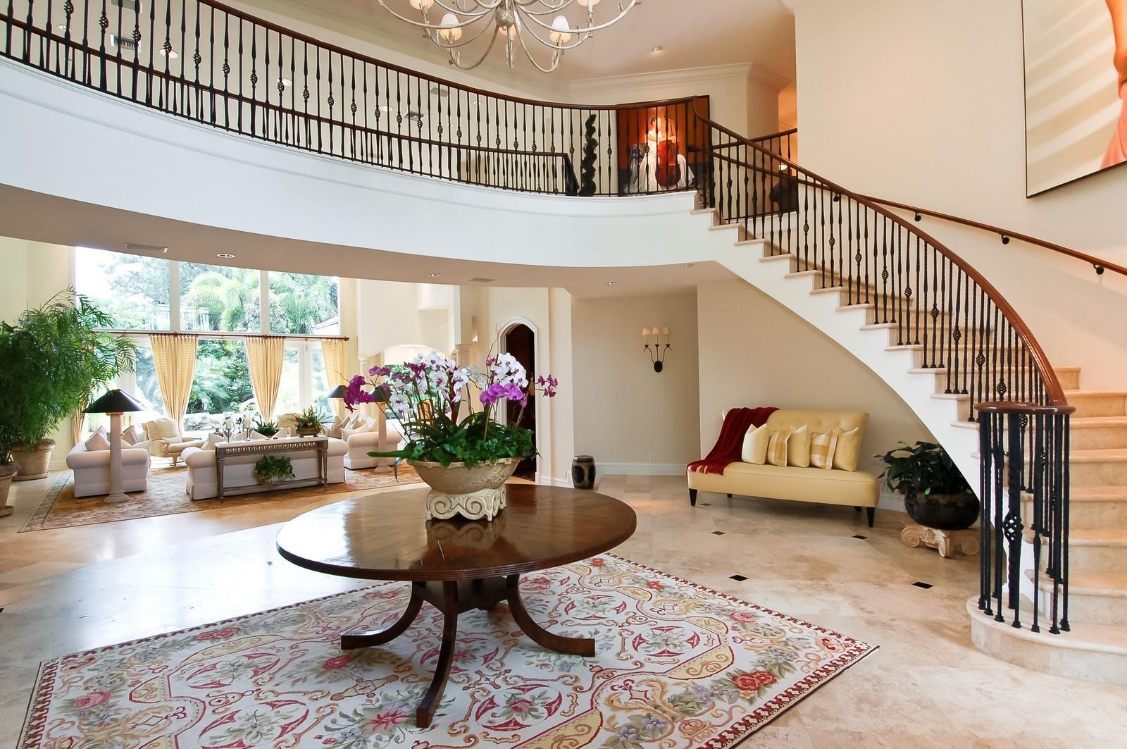 Real Estate Photography - 19674 OakbrookCourt, Boca Raton, FL, 33434 - Foyer