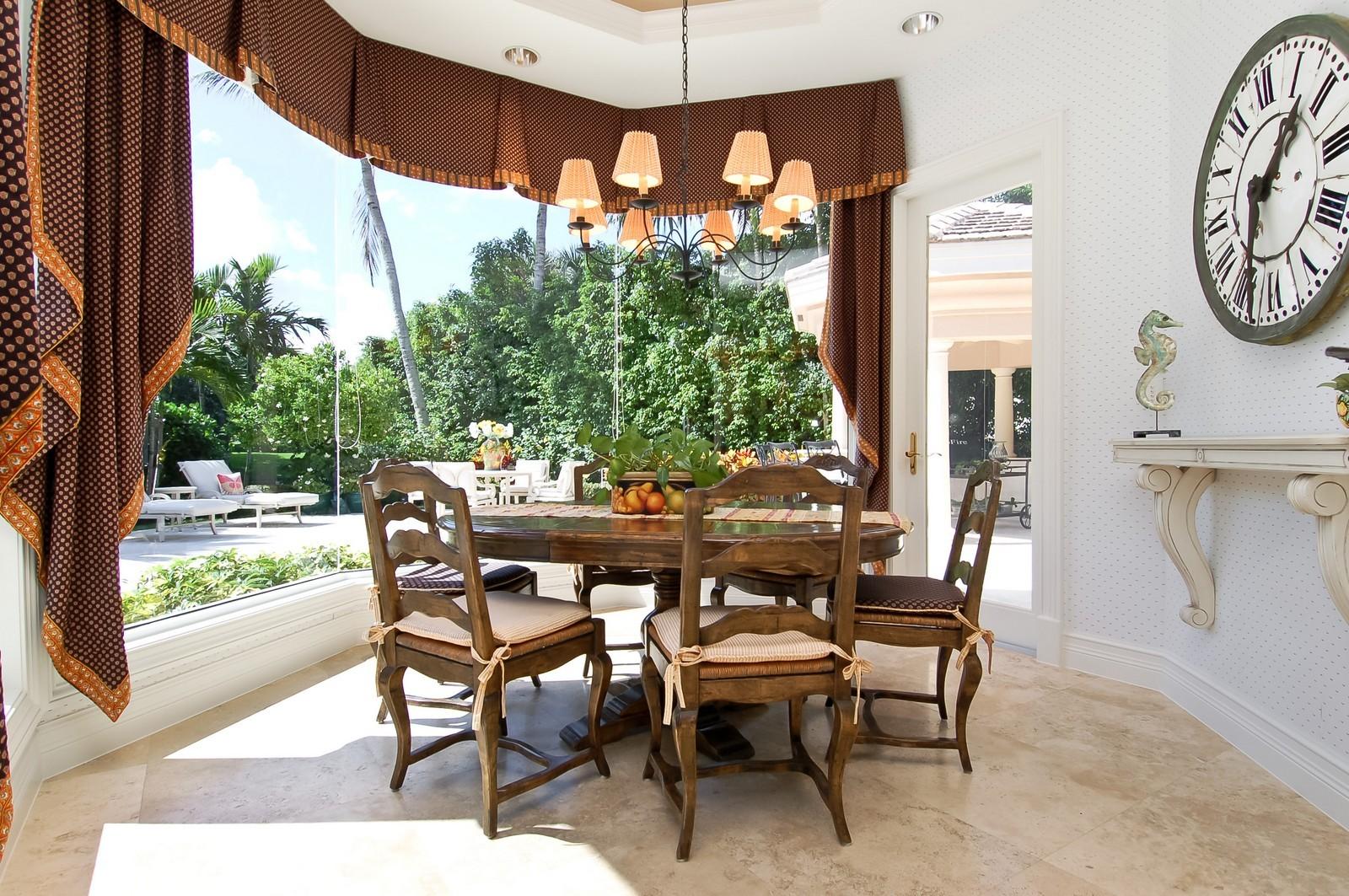 Real Estate Photography - 19674 OakbrookCourt, Boca Raton, FL, 33434 - Breakfast Room