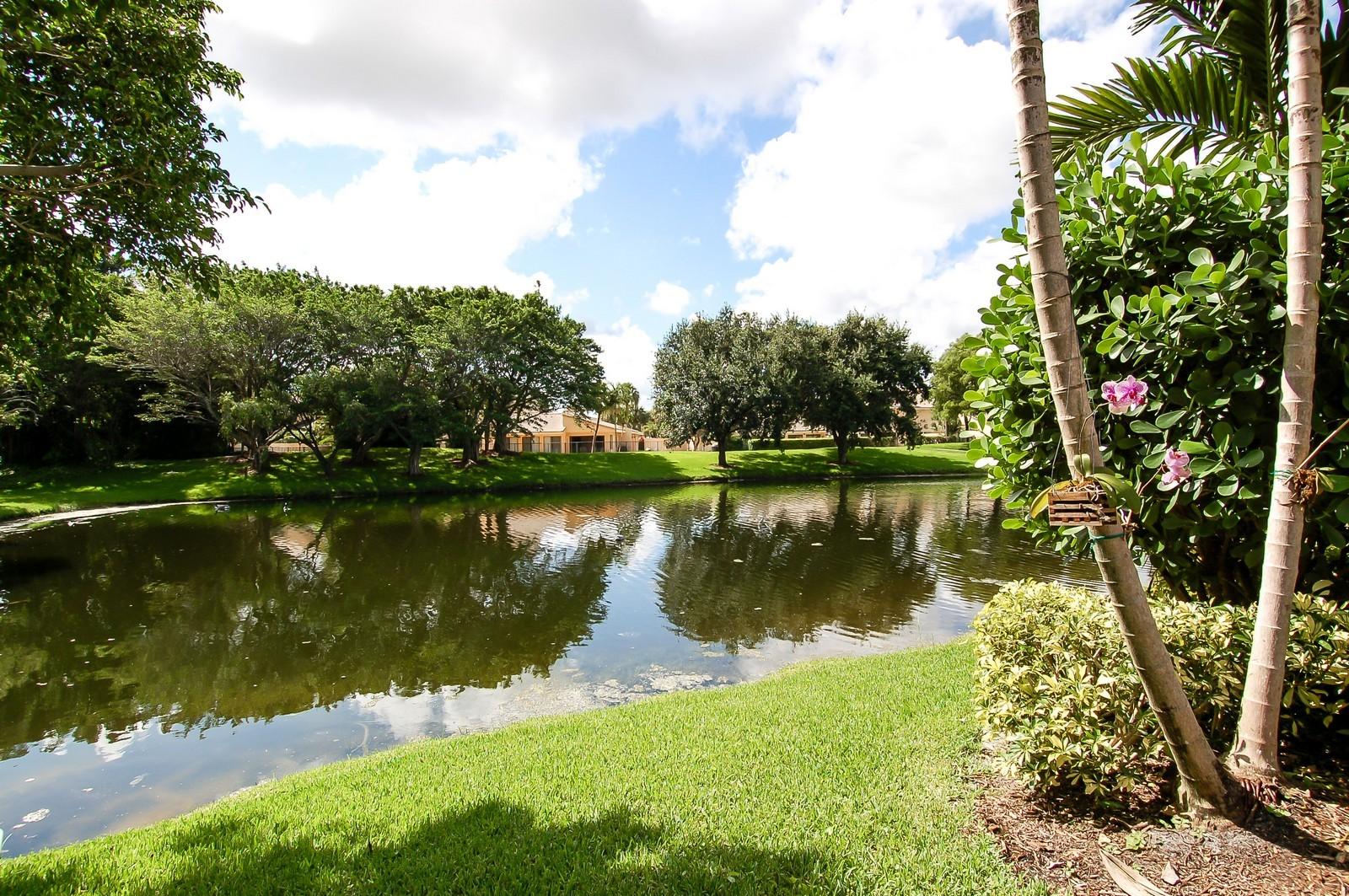 Real Estate Photography - 19674 OakbrookCourt, Boca Raton, FL, 33434 - Lake View