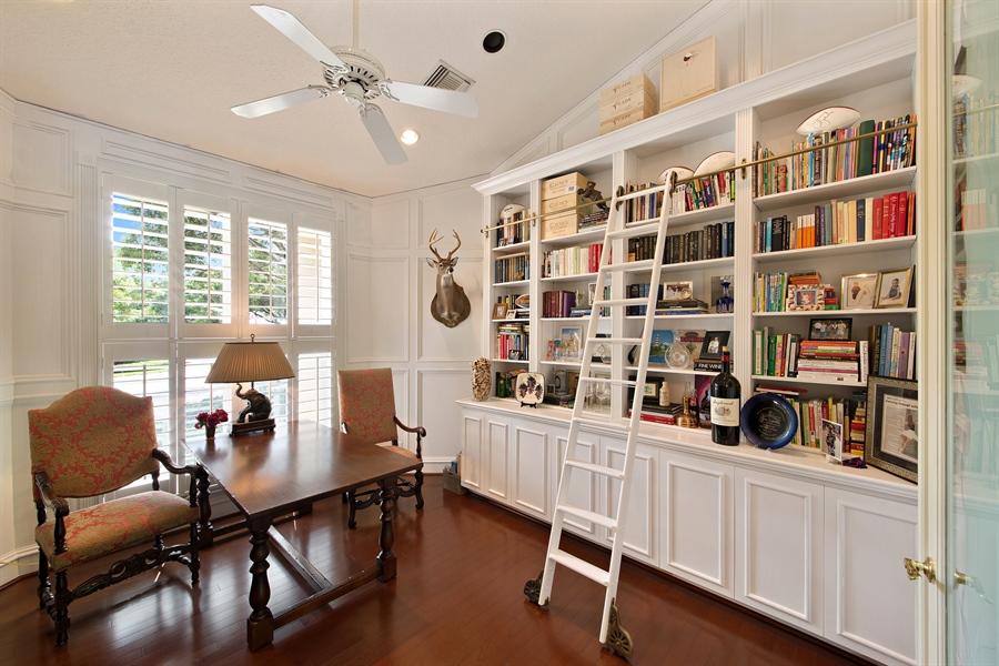 Real Estate Photography - 4305 NW 24TH Way, Boca Raton, FL, 33431 - Study