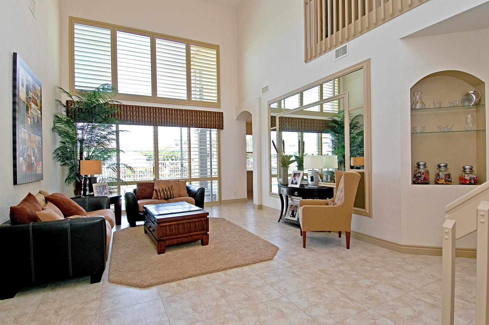 Real Estate Photography - 11308 Sea Grass Cir, Boca Raton, FL, 33498 - Living Room