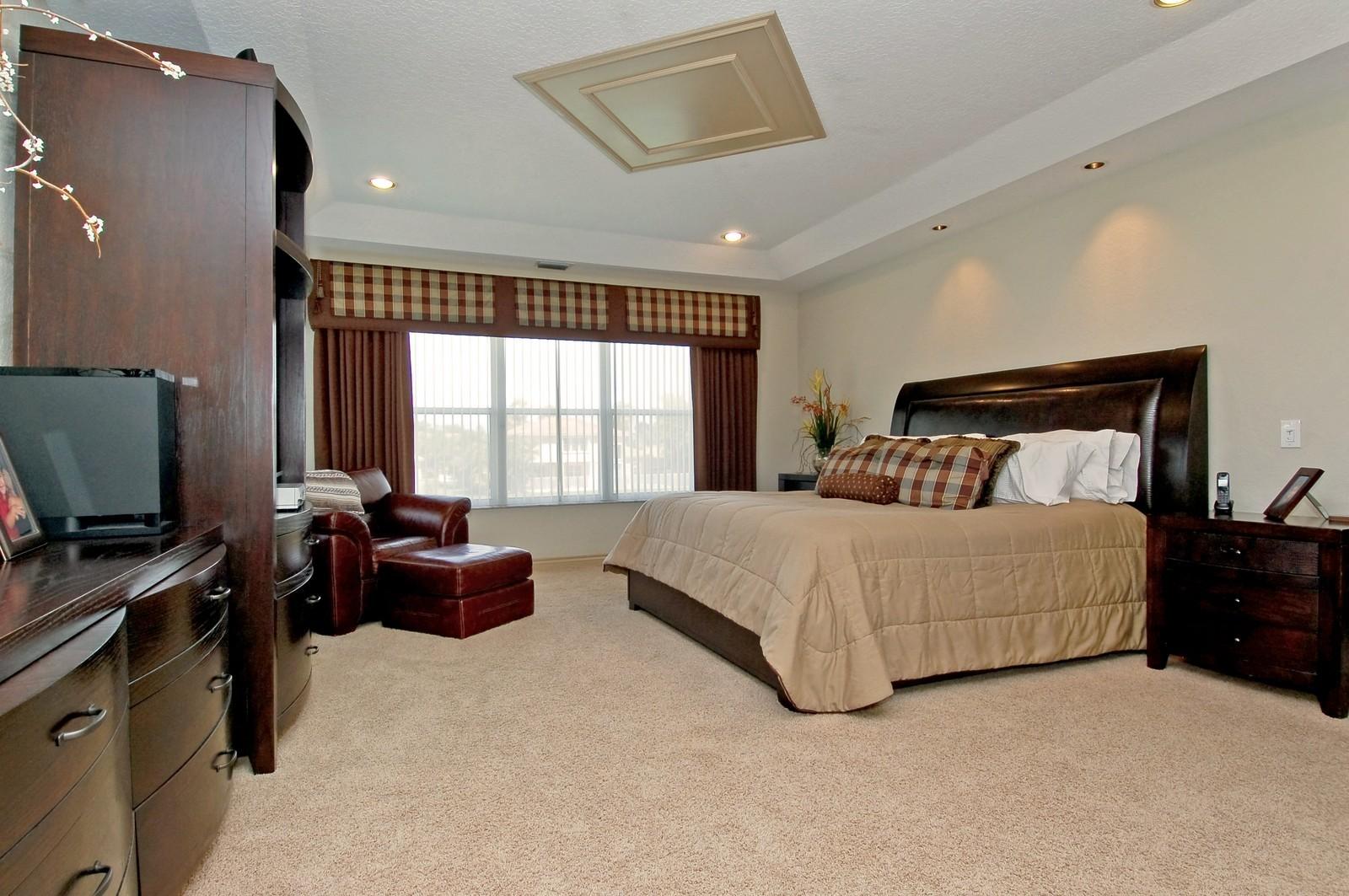 Real Estate Photography - 11308 Sea Grass Cir, Boca Raton, FL, 33498 - Master Bedroom