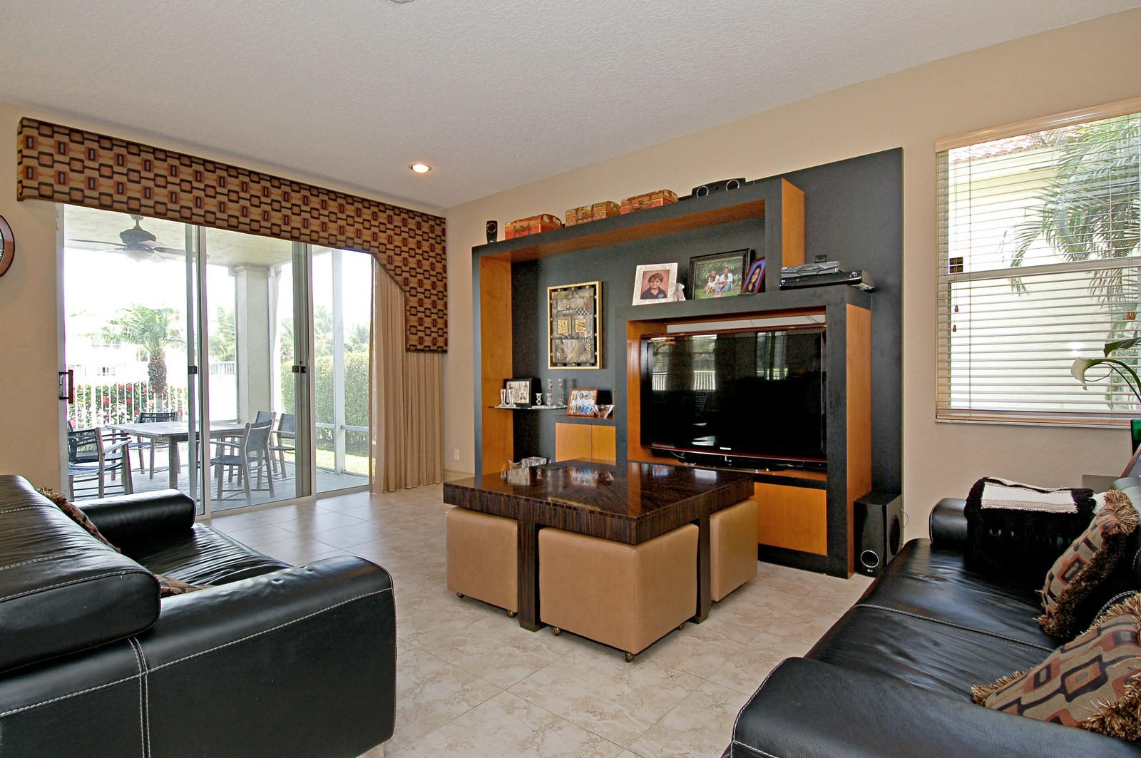 Real Estate Photography - 11308 Sea Grass Cir, Boca Raton, FL, 33498 - Family Room