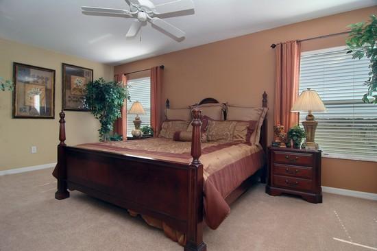 Real Estate Photography - Monaco Model, 11246 Flora Springs Dr, Riverview, FL, 33569 - Master Bedroom