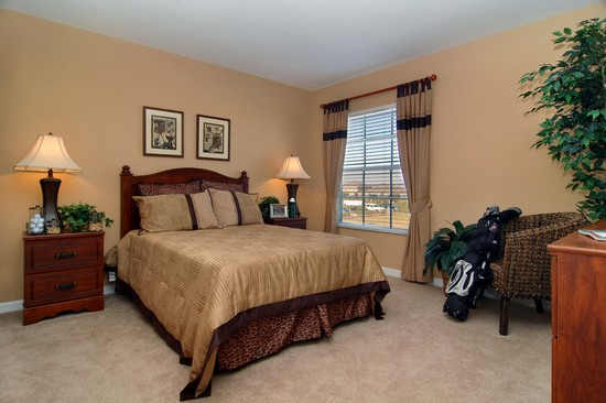 Real Estate Photography - Monaco Model, 11246 Flora Springs Dr, Riverview, FL, 33569 - Bedroom