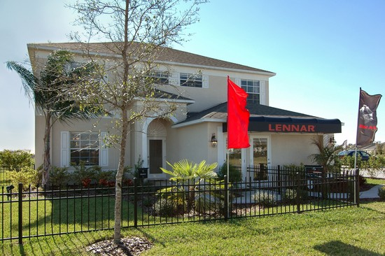 Real Estate Photography - Monaco Model, 11246 Flora Springs Dr, Riverview, FL, 33569 - Front View