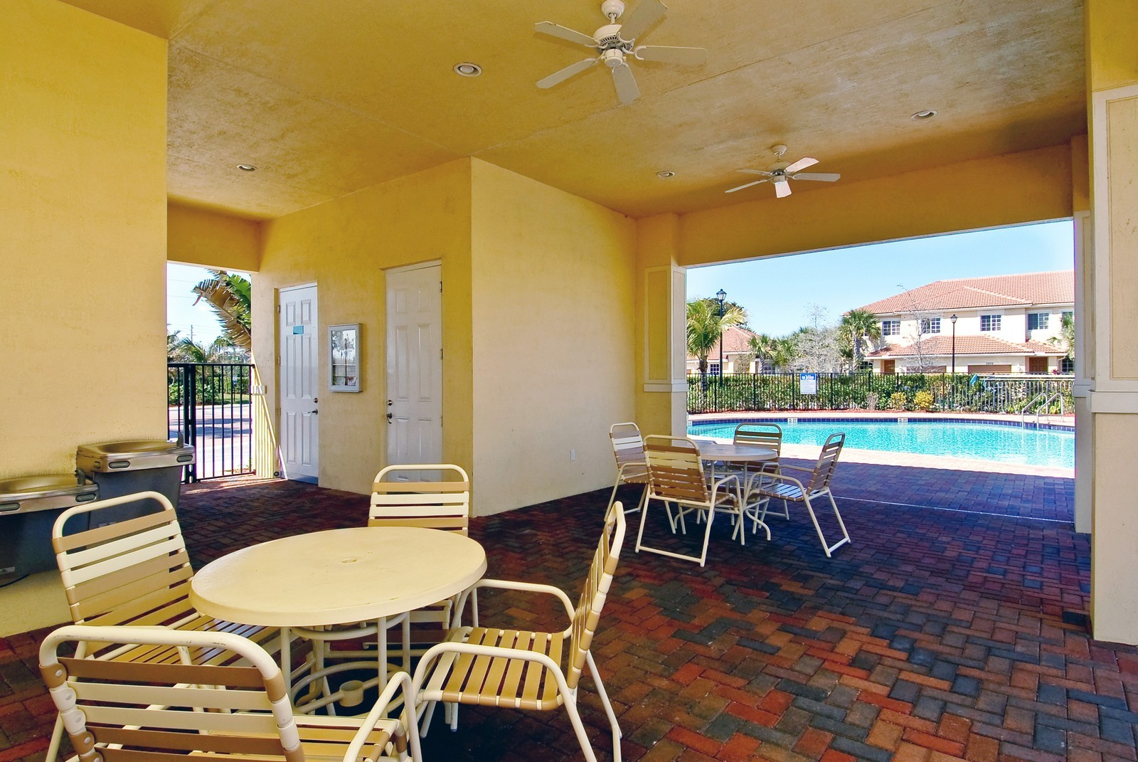 Real Estate Photography - 3169 NW 32nd St, Cayman Model, Oakland Park, FL, 33309 - Pool Terrace