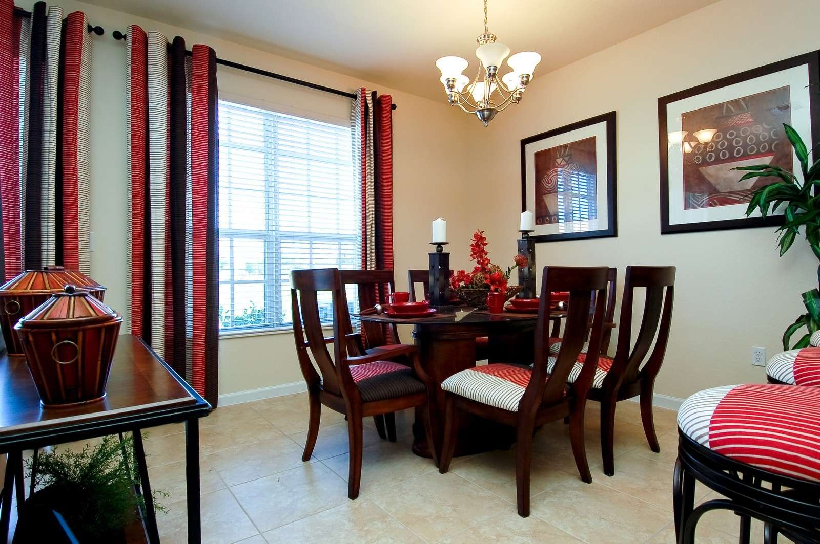 Real Estate Photography - 3169 NW 32nd St, Cayman Model, Oakland Park, FL, 33309 - Dining Room