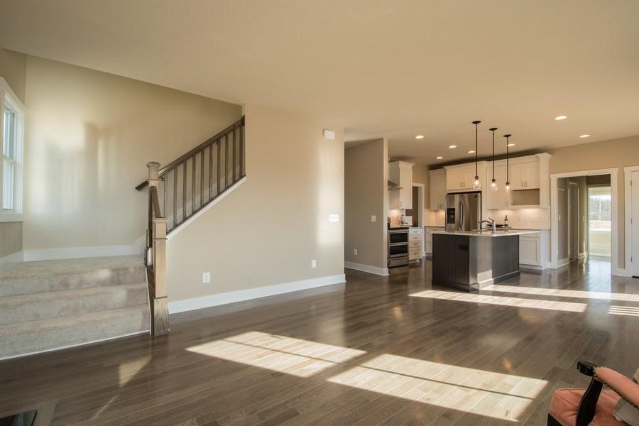 Real Estate Photography - 40877 Yakey Ln, Lovettsville, VA, 20180 - Family Room / Kitchen