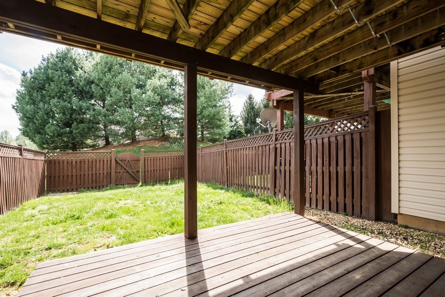 Real Estate Photography - 6634 Duncan Place, Frederick, MD, 21703 - Back Yard