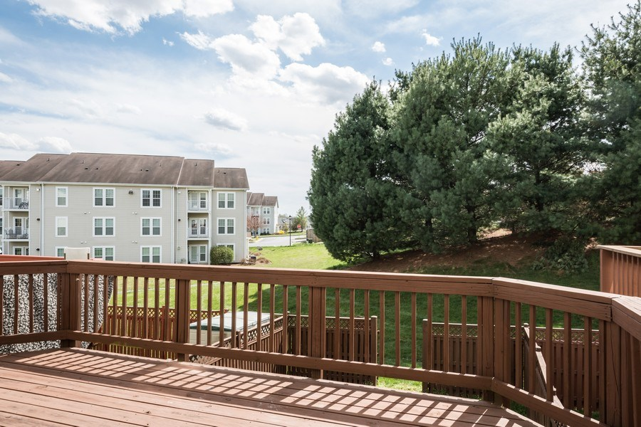 Real Estate Photography - 6634 Duncan Place, Frederick, MD, 21703 - Deck