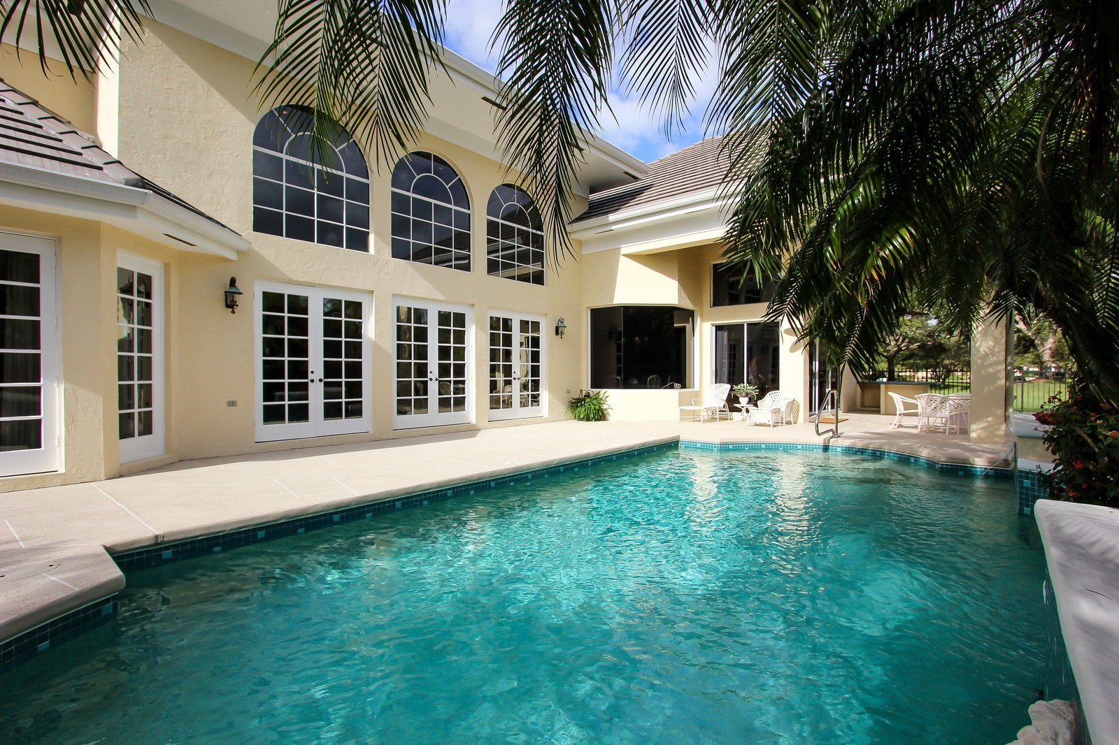 Real Estate Photography - 8725 Native Dancer, Palm Beach Gardens, FL, 33418 - Pool