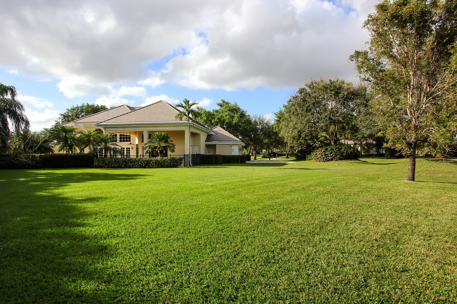 Real Estate Photography - 8725 Native Dancer, Palm Beach Gardens, FL, 33418 - Rear View