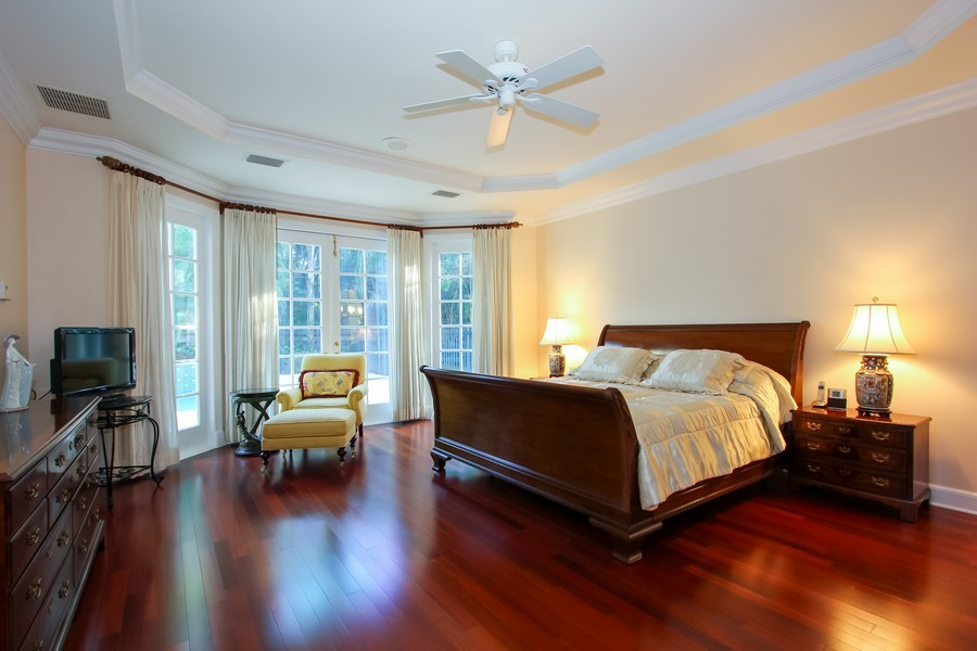 Real Estate Photography - 8725 Native Dancer, Palm Beach Gardens, FL, 33418 - Master Bedroom